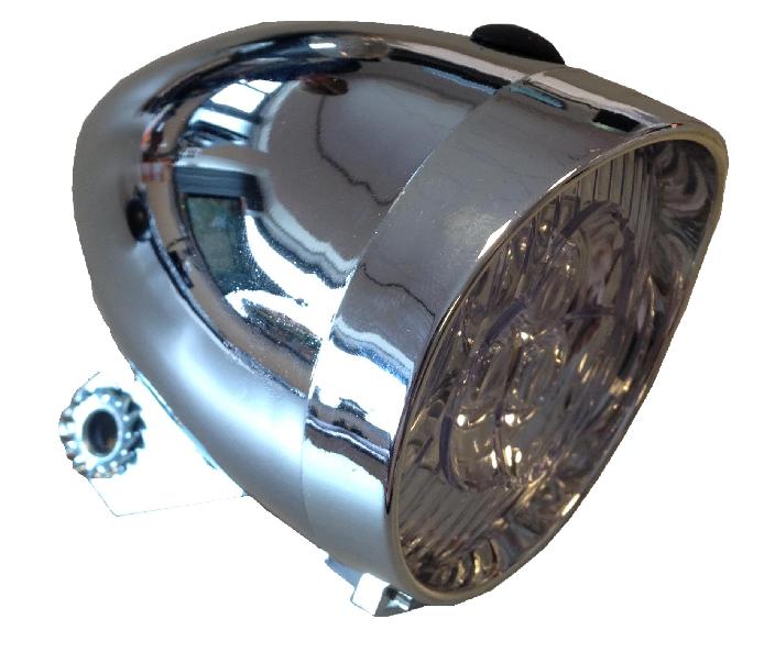 Koplamp batterij zilver 4,50